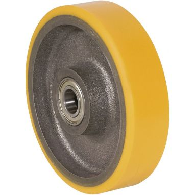 wheel, Ø 300mm, vulcanized polyurethane tread, 2200KG